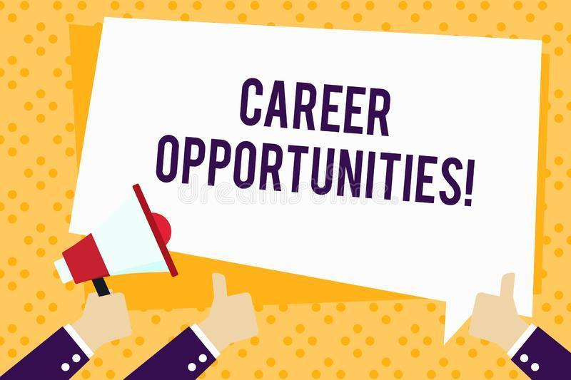 Career Opportunities for 2020-2021