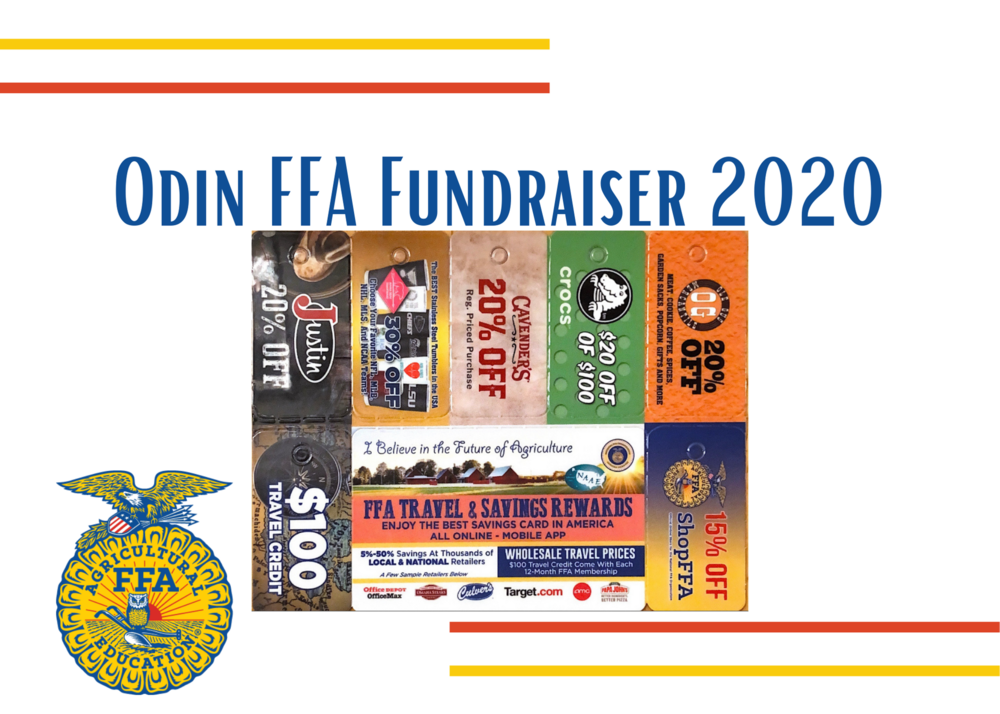 Odin FFA Fundraiser: Travel and Savings Deal Cards