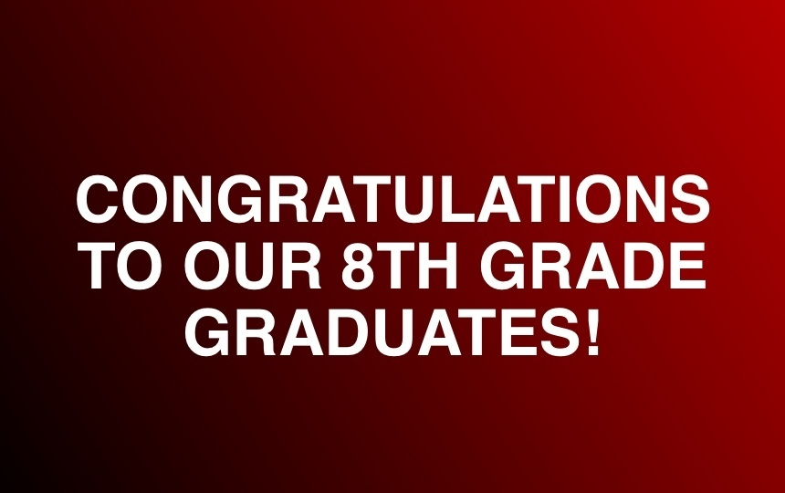 Class of 2020 8th Grade Virtual Graduation