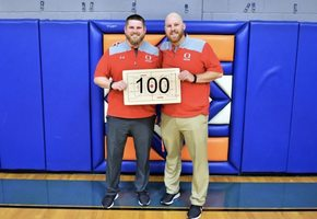 2 OT Thriller Leads to Coach Mitchell's 100th Win!