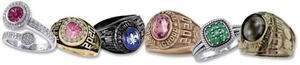 Class Ring and Letter Jackets